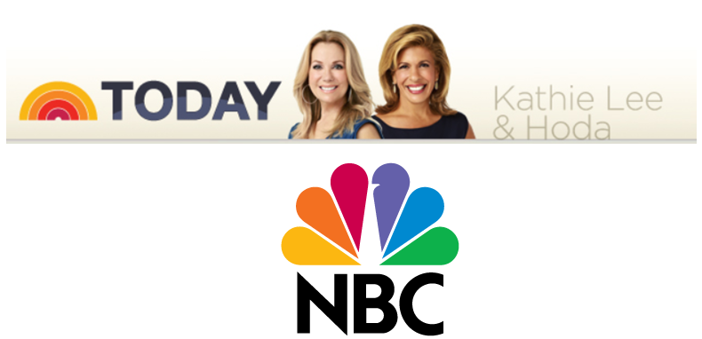 TV: NBC Today Show at 10:30AM(EST) on Tue. 10/14