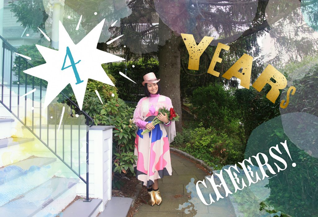 4th Year Anniversary of My Breast Cancer Diagnosis 宣告から4年目